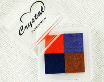 4 Colors Water-Based Mini Ink Pad Ver. 03 (1.4 x 1.4in)