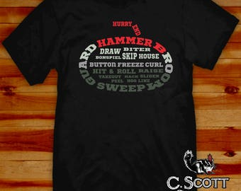 Curling Glossary T-Shirt