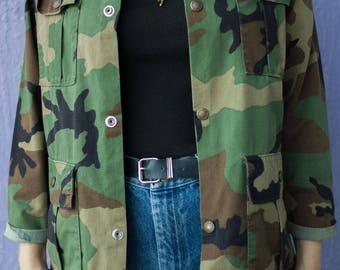Vintage Saftbak Military Jacket Made in USA