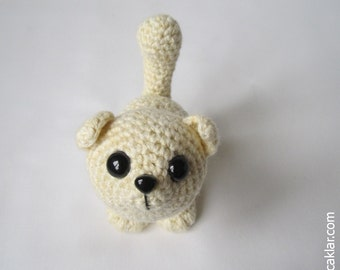 Amigurumi Cotton Cat Pattern