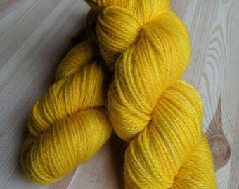 Hand Dyed Worsted Weight 100% Wool Yarn