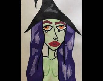 spoopy witch
