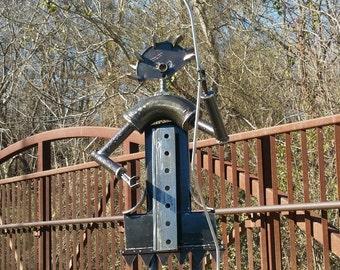 Metal Sculpture-Garden art-Abstract Sculpture-Metal Art-Outdoor Sculpture-garden decor-outdoor metal art