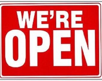 open closed