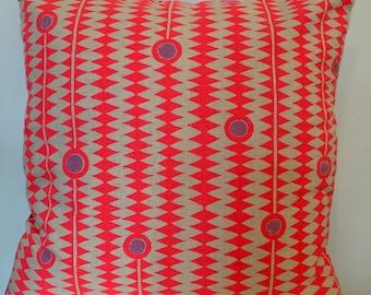 Neon Cushion, Neon Pillow, Cushion Uk, Cushion Cover, Cushion Cover UK, Geometric Cushion, Geometric Pillow