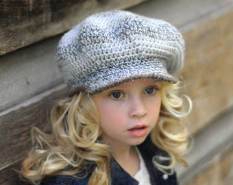Scally Cap, Newsboy Hat for Girls, (size: 6-12 years) - Ready to Ship