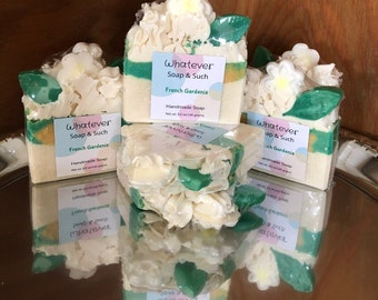 French Gardenia Handmade Soap