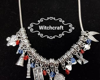 dr who theme necklace