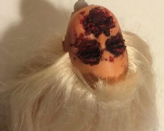 Creepy Dead Doll Head Ornament : Fay Dynamite