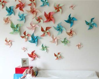 Backdrop Photo Background Paper Pinwheels Custom Solids Sets Birthday Party Decoration Baby Shower Decorations Wedding Display