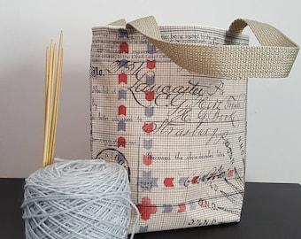 Dead Letter Office Knitting / Tote Bag