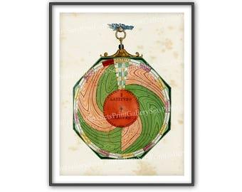 Astrology Astronomy Zodiac Horoscope Star Signs Celestial Print Planets Night Sky Map Calendar Universe Cosmos Diagram Heavens Chart bu 566