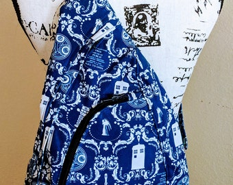 Doctor Who Purse, Doctor Who Bag, Tardis Purse, Summit Pack, Doctor Who Backpack, Blue Bag, Bigger on the Inside, Backpack, Tardis blue
