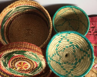 African Baskets Etsy