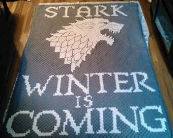 Game of thrones Stark Blanket