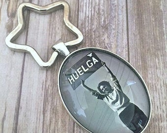 Dolores Huerta Key Chain, Si Se Puede, Keychain, Radical Women, Feminist, Chicana, Intersectional Feminism, Resist, Latinx History