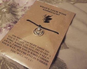 Outlander Style Wish Bracelet
