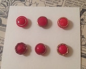 Vintage Glass Button Coll...