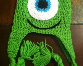 Mike from Monsters inc. beanie
