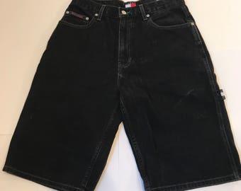 Vintage Retro 90's Tommy Hilfiger Painters Shorts Men's Size 30