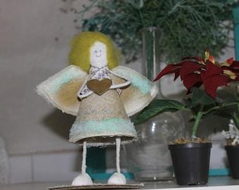 Handmade angel doll Art doll Gift doll