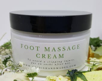 Foot Massage Cream - Eucalyptus Spearmint - Foot Cream - Foot Massage