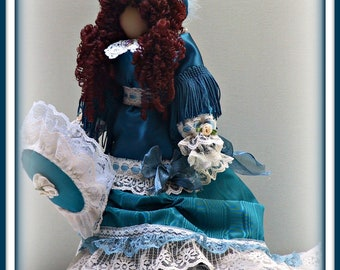 Kimberly Victorian Faceless Lady Art Doll E-Pattern