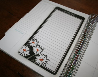 Dashboard (Size B), Coil Clip In, Laminated, Double Sided  / Erin Condren Life Planner, Limelife, Plum Paper (B06)