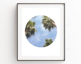 Palm Leaf Print, Tropical Leaf Print, Palm Tree Print, Palm Art Print, Tropical Leaf, Palm Photography, Gallery Wall Decor, Bedroom Decor