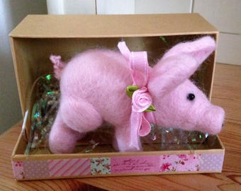 Pretty in Pink Pig