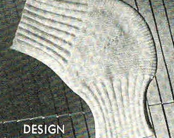 40s design- Knee Cap or Knee Warmer epattern- Australian vintage- quick knit- (PDF)