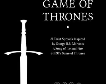 Spreads Book | The Game of Thrones Tarot Spreads Book | 31 Spreads | Winter is Coming Edition