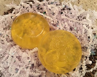 Honey Lemon Disc Soaps
