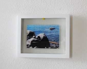 Original Photograph...Shadow Box Frame...Floating Picture