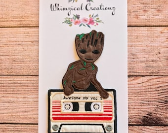 Groot Mixed Tape Patch