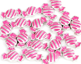 Candy floating Charms for Living Lockets, Glass Memory Lockets