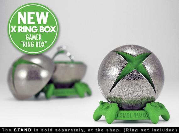 X Ring BOX proposal ring box engagement ring box xbox