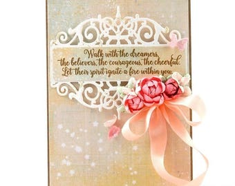 Birthday Card, Cards, Blank Card, Birthday, Handmade Card, Homemade Card