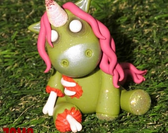 ZOMBicorn GOREnament, Zombie Unicorn, Zombie Ornament, Corpseicorn, Unicorn, Zombie.