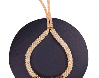 Pale Orange Bracelet made with Swarovski® Crystals