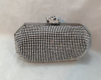 Vintage Crystal Covered Evening Purse from Real Collectibles by Adrienne      01640