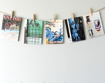 Urban Art Notecard Set, Philly Greeting Card Set of Five, Blank Cards with Envelopes Note Card Set, Urban Cards, Philadelphia Notecards