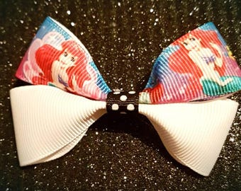The Little Mermaid Hair Bow Clip