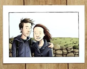 Custom Illustration from photo *digital file*