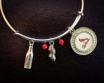 Peanuts and beer Cardinals expandable bracelet