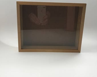 Reclaimed Wooden Shadow Box - Rectangle