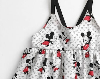 Mickey Mouse top or dress- kids Disney outfit