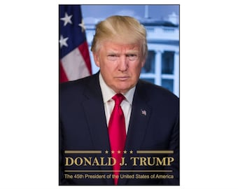 """President Trump - Pro Trump Poster - Support our president - 24"""" x 36"""" - 16"""" x 24"""" - 12"""" x 18"""" - 11"""" x 17"""" - 8.5 x 11"""""""