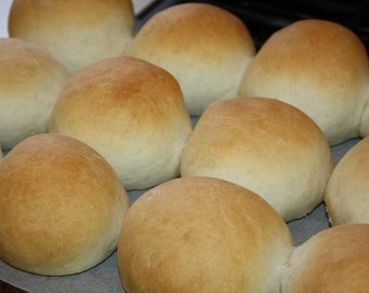 Trinidad Hops Bread, Dinner Rolls , Buns , One Dozen Delicious Hops Bread Always Baked When Ordered and Shipped Fresh