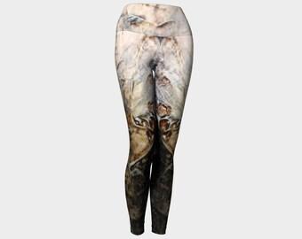 Textured Women's Yoga Pants